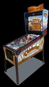 Oktoberfest Pinball Machine at GAD Vending.