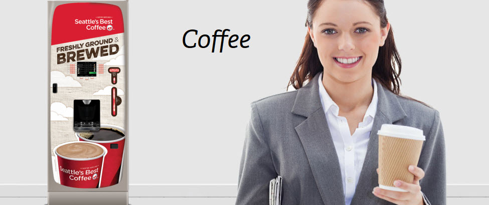 GAD Vending offers VOC Media Drink Vending Machines for fresh brewed coffee with no touch preparation.