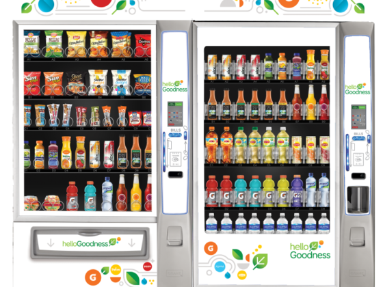 Crane Bevmax Vending Machine