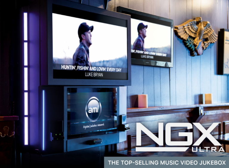 GAD Vending distributes, sells and services AMI NGX Jukebox in Omaha, Des Moines and Kansas City.