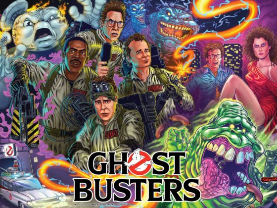 Stern Ghostbusters Pinball at GAD Vending.